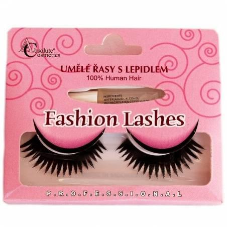 Absolute Cosmetics Fake Eyelashes with Glue, 14112/47, black