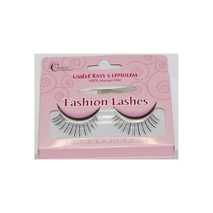 Absolute Cosmetics Fake Eyelashes with Glue, 14112/503, black