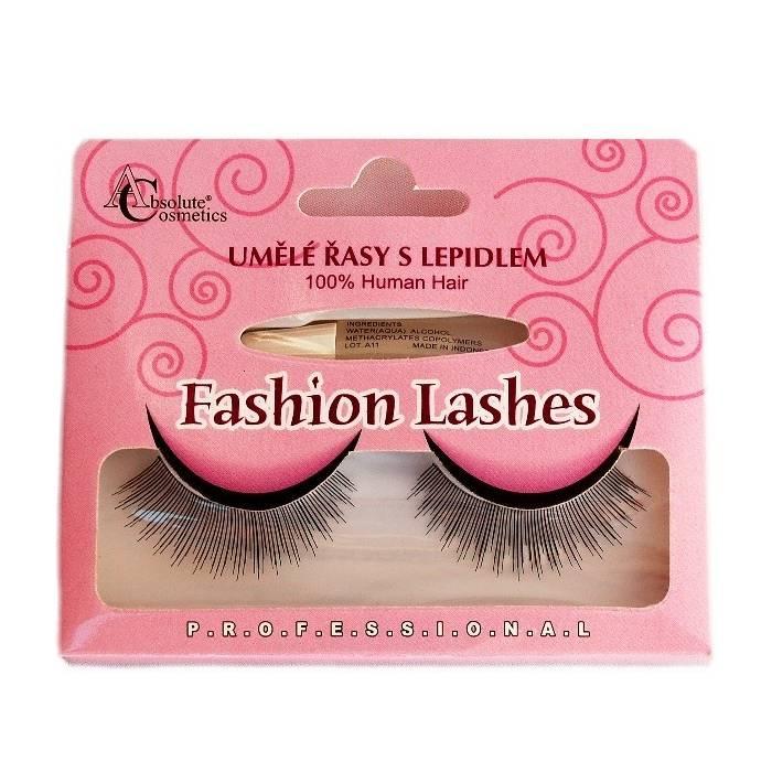 Absolute Cosmetics Fake Eyelashes with Glue, 14112/507, black