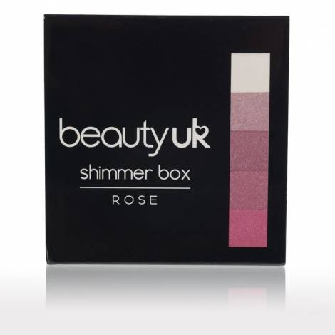 Beauty UK shimmer box Rose 12g