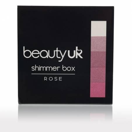 Beauty UK shimmer box Rose 12g