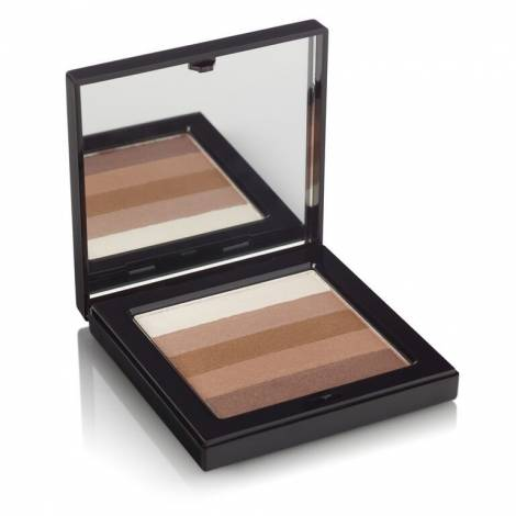 Beauty UK třpytivá tvářenka Shimmer Box Bronze 12g