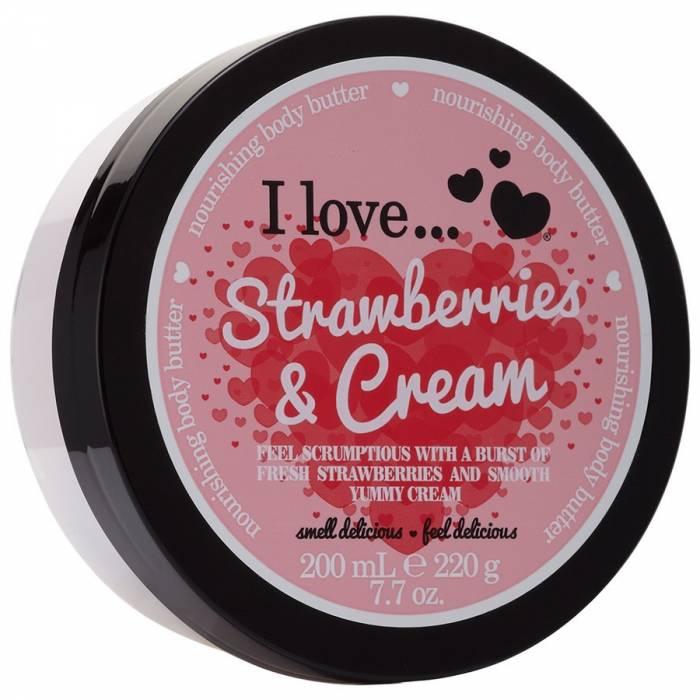 I Love Body Butter Strawberries & Cream 200ml