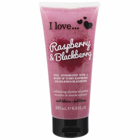 I Love Shower Smoothie Raspberry Blackberry