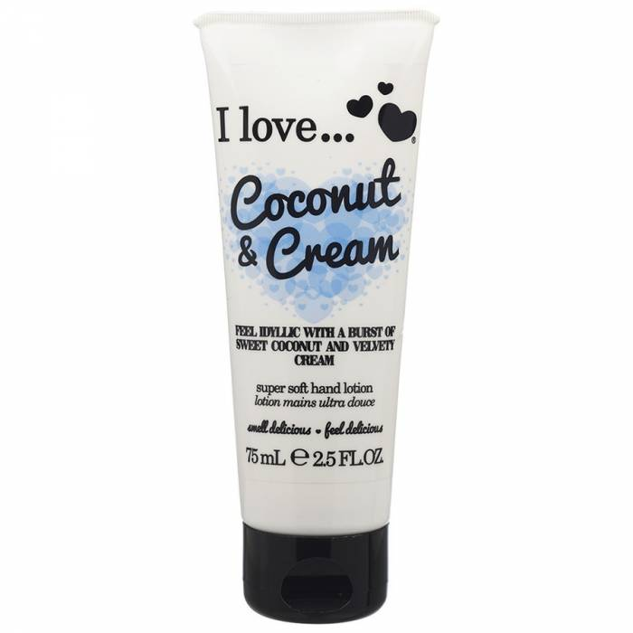 I Love Hand Lotion Coconut Cream 75ml