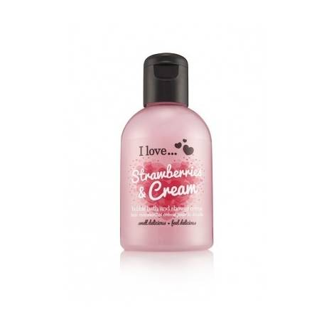 I Love Bath&Shower Strawberries Cream 100ml