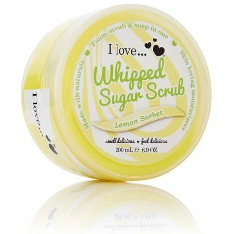 I Love Whipped Sugar Scrub Lemon Sorbet 200ml