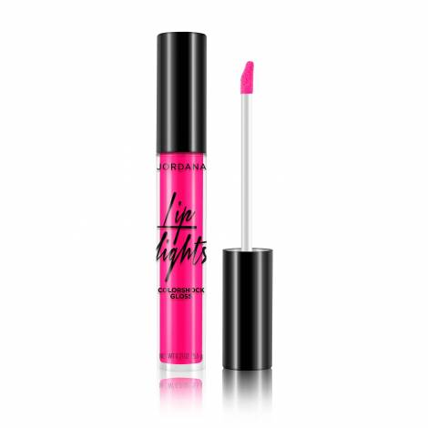 Jordana Lip Lights Colorshock Gloss 5.5g