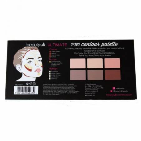 Beauty UK - Ultimate Pro Contouring Palette
