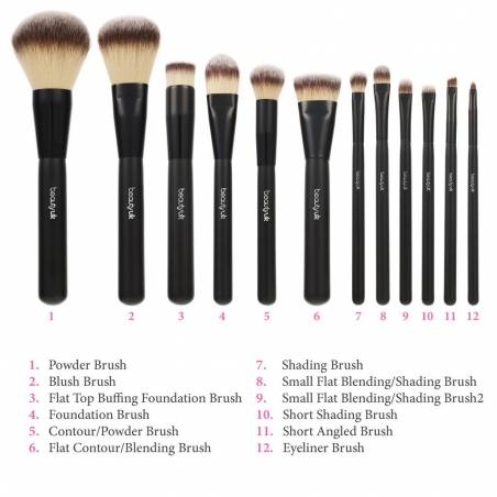 Beauty UK Small Flat Blending/Shading Brush2