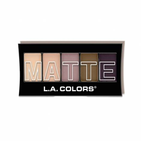 L.A. Colors 5 Color Matte Eyeshadow Palette