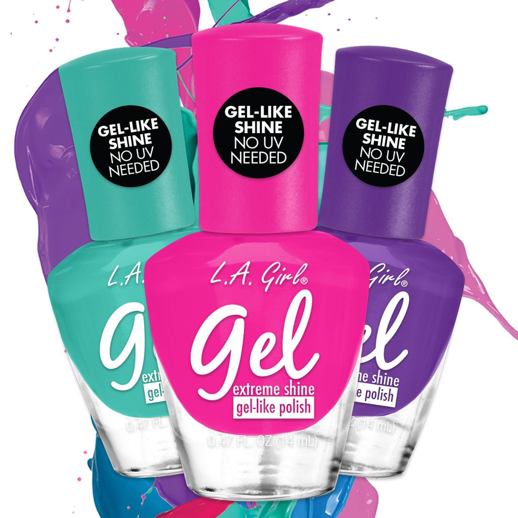L.A. Girl Gel Extreme Shine Nail Polish - Absolute Cosmetics