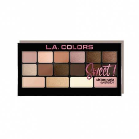 L.A. Colors Sweet! 16 Color Eyeshadow