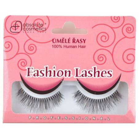 Absolute Cosmetics Fake Eyelashes 14112/747, black