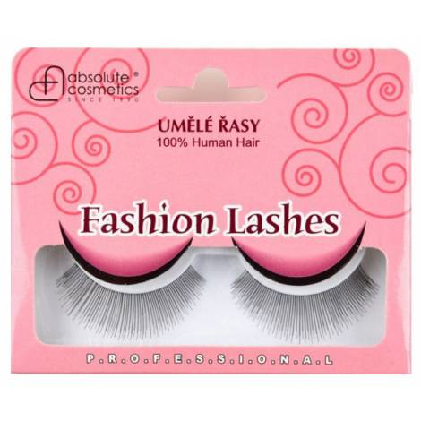 Absolute Cosmetics Fake Eyelashes 14112/12, black