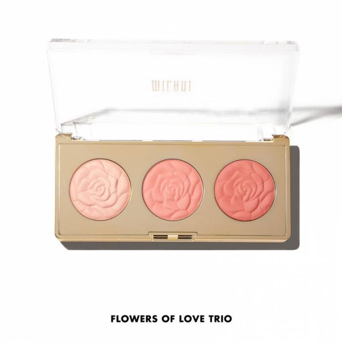 Milani Rose Blush Trio Palette