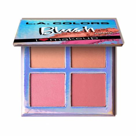 L.A. Colors Beauty Booklet Blush Palette