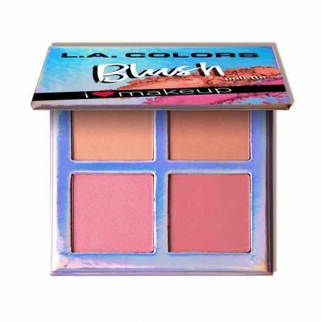 L.A. Colors Beauty Booklet Blush Palette